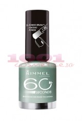 RIMMEL LONDON 60 SECONDS LAC DE UNGHII ROUND AND ROUND THE GARDEN  813