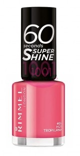 RIMMEL LONDON 60 SECONDS SUPER SHINE LAC DE UNGHII HOT TROPICANA 407
