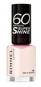 RIMMEL LONDON 60 SECONDS SUPER SHINE LAC DE UNGHII KISS A SAILOR 718