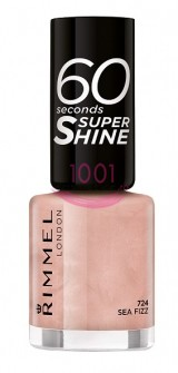 RIMMEL LONDON 60 SECONDS SUPER SHINE LAC DE UNGHII SEA FIZZ 724