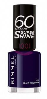 RIMMEL LONDON 60 SECONDS SUPER SHINE LAC DE UNGHII SEA IN THE DARK 720