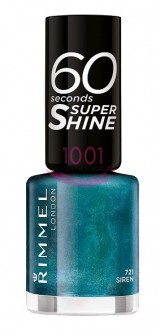 RIMMEL LONDON 60 SECONDS SUPER SHINE LAC DE UNGHII SIREN 721