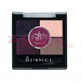 RIMMEL LONDON GLAM EYES HD 5 PAN FARD DE PLEOAPE  BRIXTON BROWN 022