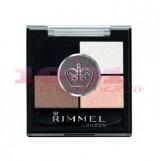 RIMMEL LONDON GLAM EYES HD 5 PAN FARD DE PLEOAPE FOGGY GREY 023