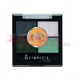 RIMMEL LONDON GLAM EYES HD 5 PAN FARD DE PLEOAPE GREENWICH 026