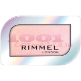 RIMMEL LONDON HOLOGRAPHIC EYE SHADOW & FACE HIGHLIGHTER BLUSHED ORBIT 023