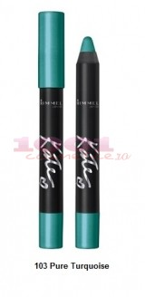 RIMMEL LONDON KATE EYESHADOW STICK 24 H WATERPROOF PURE TURQUOISE 103