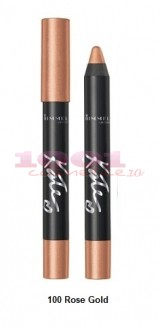 RIMMEL LONDON KATE EYESHADOW STICK 24 H WATERPROOF ROSE GOLD 100