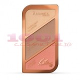 RIMMEL LONDON KATE SCULPTING CONTURING AND HIGHLIGHTING PALETA 002 CORAL GLOW