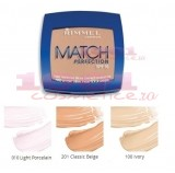 RIMMEL LONDON MATCH PERFECTION FOND DE TEN COMPACT