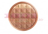 RIMMEL LONDON RADIANCE BRICK PUDRA BRONZANTA STRALUCITOARE MEDIUM 002
