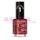 RIMMEL LONDON SUPER GEL KATE MOSS LAC DE UNGHII ROCK N SPARKLE 044
