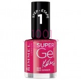RIMMEL LONDON SUPER GEL LAC DE UNGHII RED GINGER 024