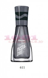 SALLY HANSEN INSTA DRY LAC DE UNGHII DEEP SPACE SPARKLE 611