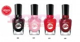 SALLY HANSEN MIRACLE GEL 160 PINKY PROMISE + 460 BLACKY O+ 470 RED EYE + 440 DIG FIG