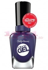 SALLY HANSEN MIRACLE GEL LAC DE UNGHII MIDNIGHT MOD 445