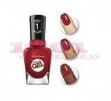 SALLY HANSEN MIRACLE GEL LAC DE UNGHII RED-Y SET RUN! 446