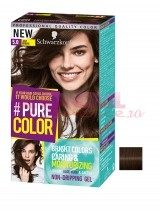 SCHWARZKOPF COLORANT PERMANENT VOPSEA DE PAR SUB FORMA DE GEL JUST BROWN 5.0
