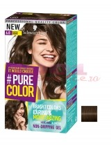 SCHWARZKOPF COLORANT PERMANENT VOPSE DE PAR SUB FORMA DE GEL PASTED BROWN 6.0