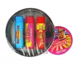 SWIZZELS REFRESHERS BALSAM DE BUZE STICK TRIO LEMON & STRAWBERRY & CHERRY