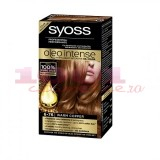 SYOSS OLEO INTENSE PERMANENT OIL COLOR VOPSEA DE PAR ARAMIU CALD 6-76