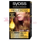 SYOSS OLEO INTENSE PERMANENT OIL COLOR VOPSEA DE PAR MANGO AURIU 7-70