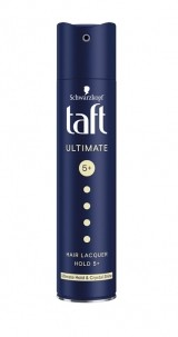 TAFT FIXATIV ULTIMATELY STRONG HAIR LACQUER PUTERE 6
