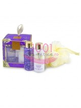 GRACE COLE THE LUXURY BATHING COMPANY LAVANDER SET CREMA DE CORP 100 ML+GEL DE DUS 100 ML+BURETE DE BAIE