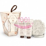 GRACE COLE THE LUXURY BATHING COMPANY VANILLA & HONEY SET GEL DE DUS 100ML+ CREMA DE CORP 100 ML+ BURETE DE BAIE