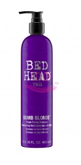 TIGI BED HEAD DUMB BLONDE VIOLET TONING SAMPON NUANTATOR