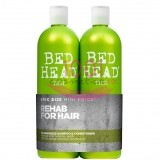 TIGI BED HEAD DUMB URBAN RE-ENERGIZE SAMPON 750 ML + BALSAM 750 ML SET
