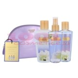 VICTORIA SECRET SECRET CHARM BODY SPRAY 125 ML + BODY LOTION 125 ML + SHOWER GEL 125 ML + COSMETIC BAG SET