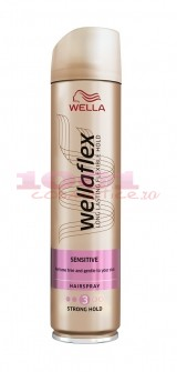 WELLAFLEX SENSITIVE FIXATIV SPRAY PENTRU PAR 3