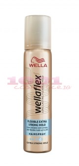 WELLAFLEX FLEXIBLE EXTRA STRONG HOLD FIXATIV SPRAY PENTRU PAR 4