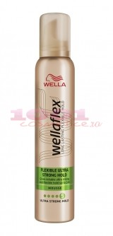 WELLAFLEX FLEXIBLE ULTRA STRONG HOLD SPUMA PENTRU PAR 5
