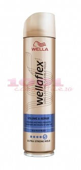 WELLAFLEX VOLUME & REPAIR FIXATIV SPRAY PENTRU PAR 5